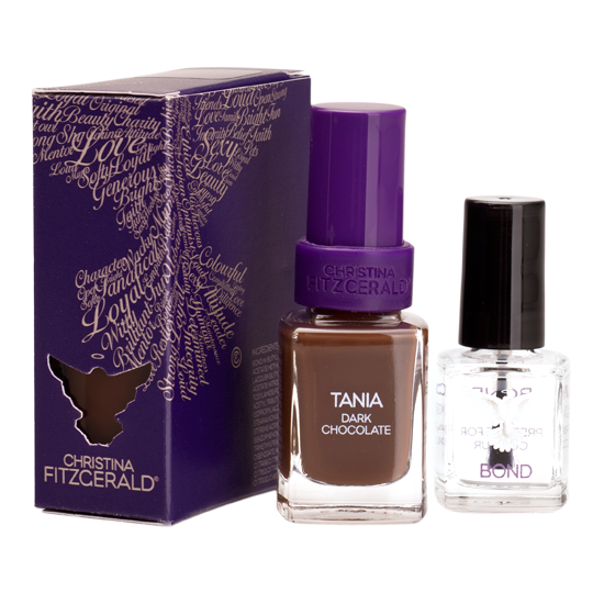 Christina Fitzgerald Tania Dark Chocolate + Bond 12ml/9ml