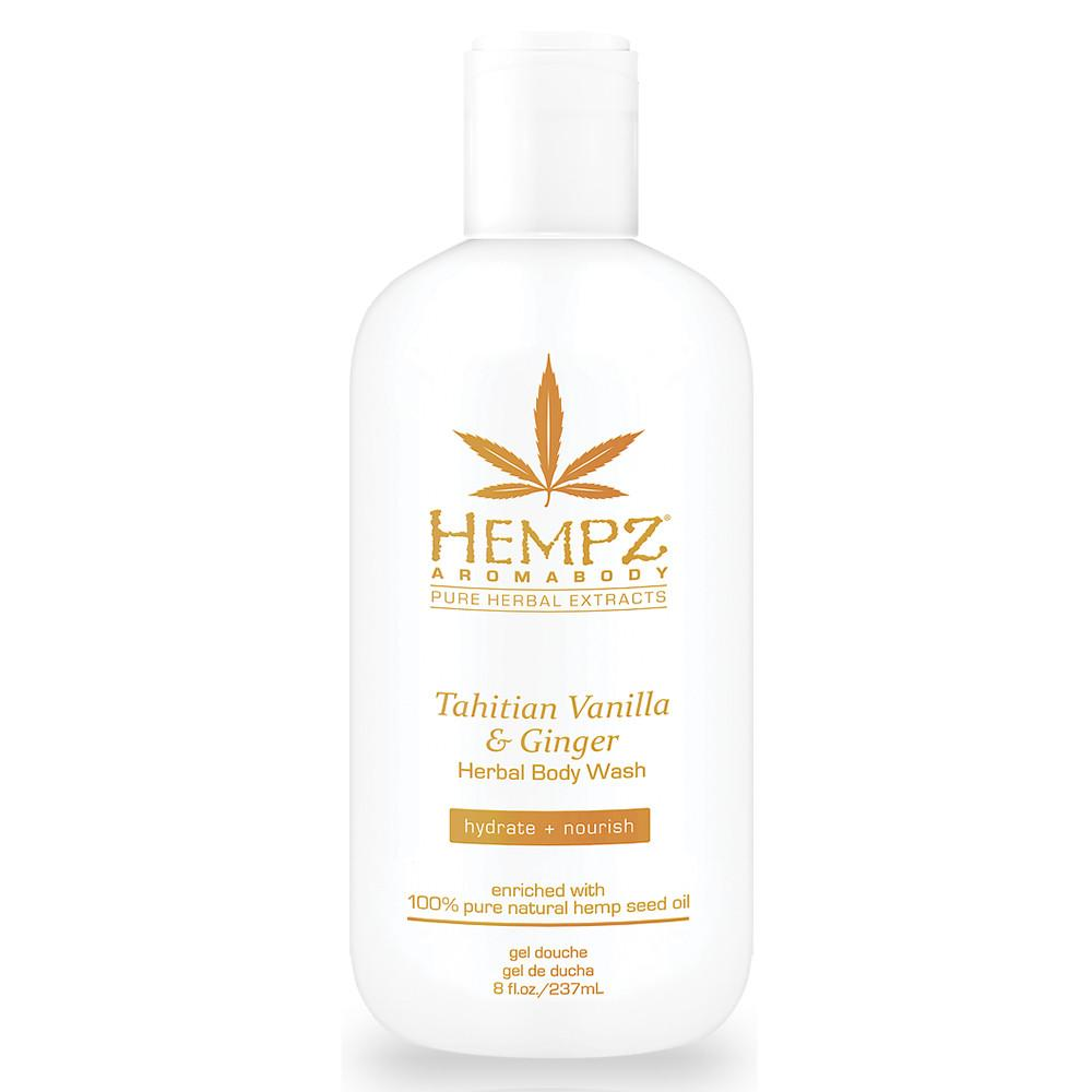 Hempz Tahitian Vanilla and Ginger Herbal Body Wash 237 ml.