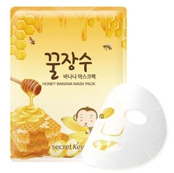 Secret Key Honey Banana Mask Pack 1P