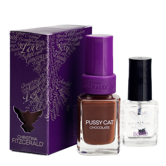 Christina Fitzgerald Pussy Cat Chocolate + Bond 12ml/9ml