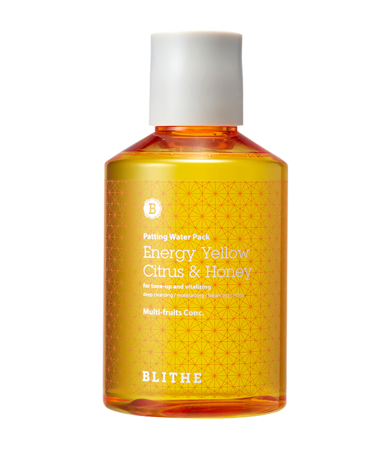 Blithe Energy Yellow Citrus and Honey Mask, 200ml