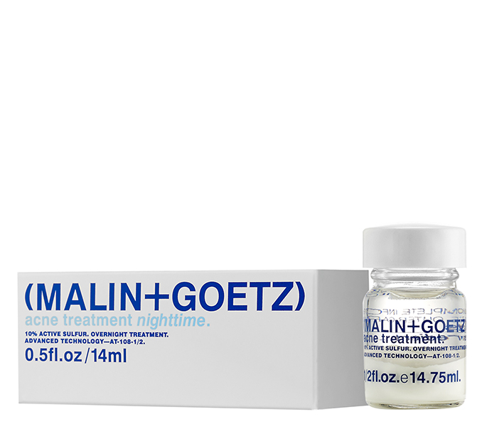 MALIN+GOETZ acne treatment nighttime 14 ml.