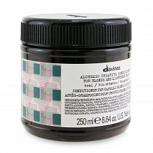 Davines Alchemic creative conditioner for blond and lightened hair Teal 250ml - интернет-магазин профессиональной косметики Spadream, изображение 33803