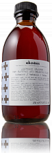 Davines Alchemic Shampoo For Natural And Coloured Hair Tobacco 280 ml.
