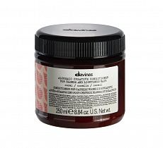 Davines Alchemic creative conditioner for blond and lightened hair Coral  250ml - интернет-магазин профессиональной косметики Spadream, изображение 33795